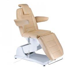 Elektryczny fotel kosmetyczny Bologna BG-228 Beż BS