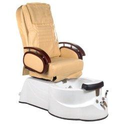 Fotel do pedicure z masażerem BR-3820D Beżowy BS