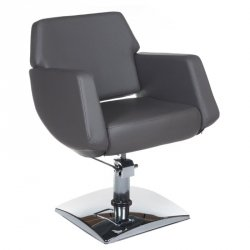 Fotel Fryzjerski Nico Szary BD-1088 BS