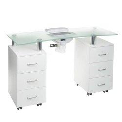 Stolik do manicure + pochłaniacz BD-3425-1+P Biały BS