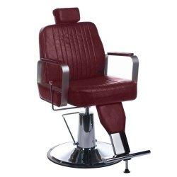 Fotel Barberski Homer BH-31237 Wiśniowy BS