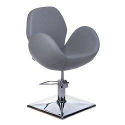 Fotel Fryzjerski Alto BH-6952 Jasno Szary BS