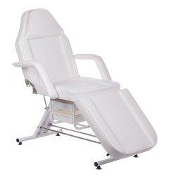 Fotel Kosmetyczny z Kuwetami BW-262A - Biały BS