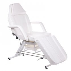 Fotel Kosmetyczny z Kuwetami BW-263 - Biały BS