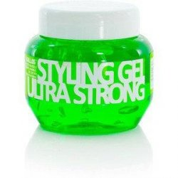 KALLOS  Żel Ultra Hold Styling  Gel 275 ml  zielony