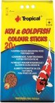 Tropical Koi&Goldfish Colour Sticks - worek 20l