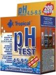 Tropical pH Test 4.5-9.5 do wody słodkiej i słonej