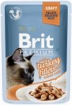 Brit Premium Cat Adult Filety z indyka w sosie 24x85g