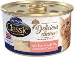 Butchers Cat Classic Delicious Dinners Mus z łososiem i krewetkami 85g