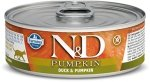 N&D Cat Pumpkin Duck - Kaczka i dynia 80g