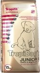 Tropidog Super Premium Junior Medium & Large Breeds Turkey&Salmon&Eggs - Indyk, Łosoś i Jaja 15kg