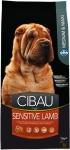 Cibau Sensitive Lamb Medium maxi 12kg +2kg Gratis