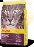 Josera Carismo dla starszych kotów 2kg +12 puszek Abart z drobiem GRATIS
