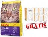 Josera Culinesse - z drobiem i łososiem dla wymagających kotów 10kg + 12 puszek Abart z drobiem GRATIS