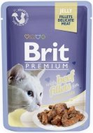 Brit Premium Cat Adult Filety wołowe w galaretce 85g