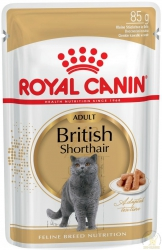 Royal Canin British Shorthair Adult - saszetka 85g Promo