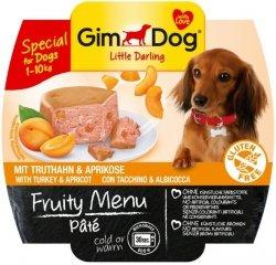 GimDog Fruity Menu Pate - pasztet z indykiem i morelą 100g