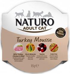 Naturo Cat Adult - mus z indykiem 85g