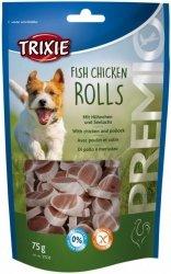 Trixie Premio Fish Chicken Rolls - krążki z rybą i kurczakiem 75g