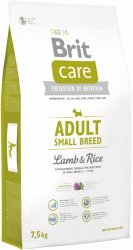 Brit Care Adult N Small Breed Lamb 40% & Rice 7,5kg