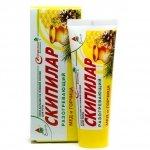 Warming Gel Cream SKIPILAR Honey and Mustard, 75 ml