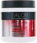 Maseczka do Włosów Termoochronna Thermo Protect, Wyciąg z Łożysk Roślinnych, 500 ml Salon Professional