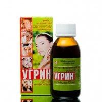 Płyn do Pielęgnacji Twarzy i Ciała Przeciwtrądzikowy Ugrin®, 100 ml