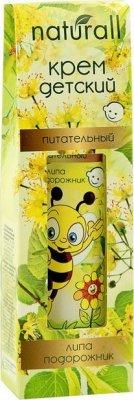 Krem dla Dzieci Odżywczy Lipa i Babka, Seria Naturall, 40 ml