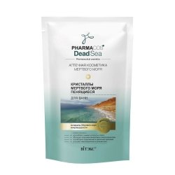 Dead Sea Foam Bath Crystals, Pharmacos Dead Sea