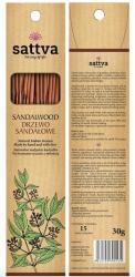 Sandalwood Natural Incense Sticks, Sattva, 30g
