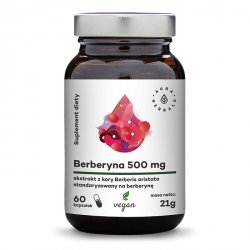 Berberine 500 mg (Berberies aristata), Aura Herbals, 60 capsules