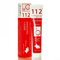 Cream Balm Pantenol and Aloes Rescuer 112