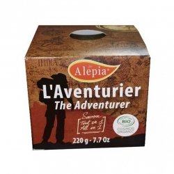 Organic Adventurer's Soap Bar, Alepia, 220 g