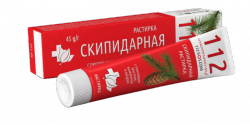 Turpentine Ointment with Fir Oil, Camphor and Honey, Rescuer 112