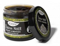 Savon Noir Black Peeling Soap, Alepia, 200g