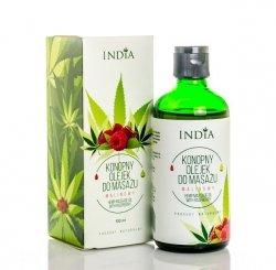 Raspberry Hemp Massage & Body Oil, 100ml
