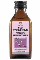 Comfrey Oil with Ironwort & Ground Elder, Myvita