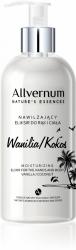 Vanilla & Coconut Moisturizing Hand and Body Elixir, Allvernum