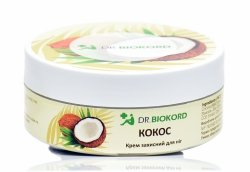Coconut Protective Foot Cream, Dr. Biokord, 100% Natural