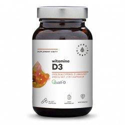 Vitamin D3 2000 IU, Aura Herbals, 90 capsules