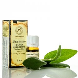 Clary Sage Essential Oil, Aromatika, 100% Natural