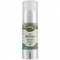 Bhringraj Hair Oil Luxe Glass Bottle, Alepia, 30ml