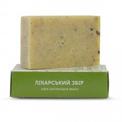 Soap «Medical Tea» with Sage, Chamomile, Marigold and Hops