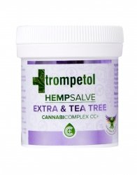Hemp Salve Extra & Tea Tree Ointment Trompetol