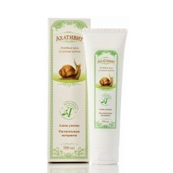 Snail Slime Facial and Body Cream, Ahativit, 100 ml