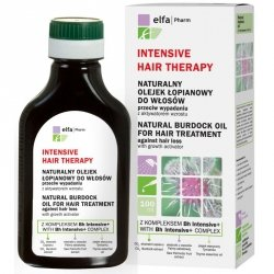 Natural Burdock Oil with Bh Intensive+ complex against hair loss