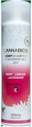 Hemp Shampoo & Shower Gel 2 in 1 Cannabios