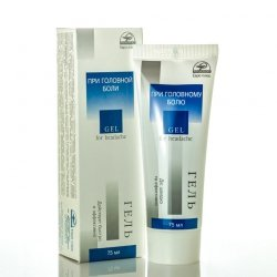 Headache Gel with Badiaga, 75 ml