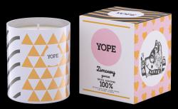 Zimowy Poncz Świeca Zapachowa Sojowa, Yope, 100% Naturalna