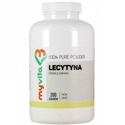 Lecytyna w Proszku Granulowana NON-GMO Myvita